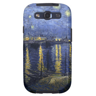 Van Gogh Starry Night Over The Rhone Galaxy SIII Case