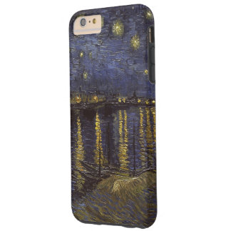 Van Gogh Starry Night Over The Rhone Fine Art Tough iPhone 6 Plus Case