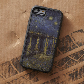 Van Gogh Starry Night Over The Rhone Fine Art Tough Xtreme iPhone 6 Case