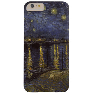 Van Gogh Starry Night Over The Rhone Fine Art Barely There iPhone 6 Plus Case