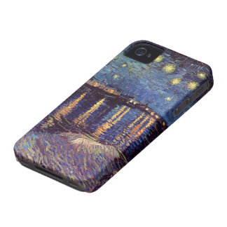 Van Gogh Starry Night Over the Rhone, Fine Art iPhone 4 Case-Mate Case