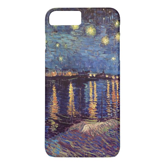 Van Gogh Starry Night Over the Rhone, Fine Art iPhone 8 Plus/7 Plus Case