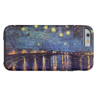Van Gogh Starry Night Over the Rhone, Fine Art Tough iPhone 6 Case