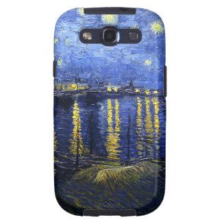 Van Gogh Starry Night Over The Rhone Galaxy Case Samsung Galaxy S3 Case