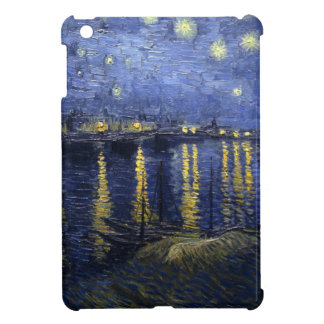 Van Gogh Starry Night Over The Rhone Cover For The iPad Mini