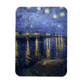 Van Gogh Starry Night Over The Rhone Magnet