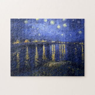 Van Gogh: Starry Night Over the Rhone Puzzle