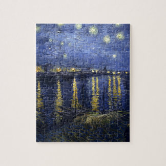 Van Gogh Starry Night Over The Rhone Puzzle