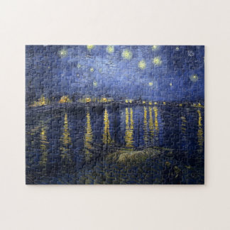 Van Gogh Starry Night Over The Rhone Puzzles