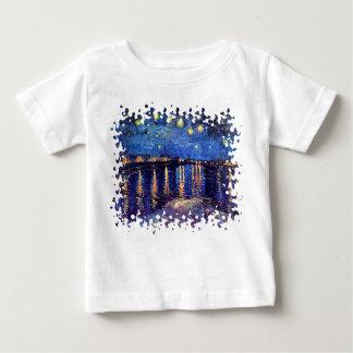 Van Gogh - Starry Night Over The Rhone Shirts