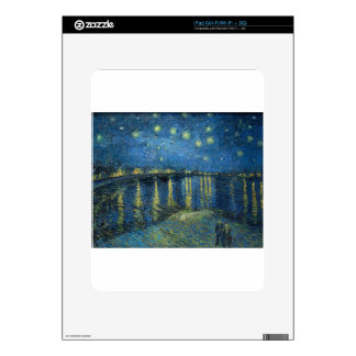 Van Gogh: Starry Night Over the Rhone Skin For The iPad