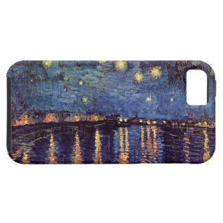 Van Gogh Starry Night Over the Rhone, Vintage Art iPhone 5 Covers