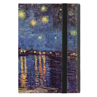 Van Gogh Starry Night Over the Rhone, Vintage Art Cases For iPad Mini