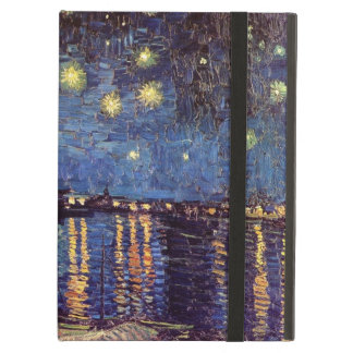 Van Gogh Starry Night Over the Rhone, Vintage Art Cover For iPad Air
