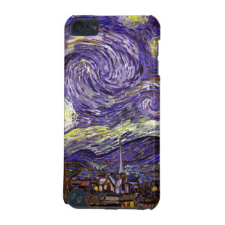 Van Gogh starry night painting impressionist art iPod Touch 5G Cases