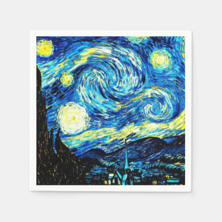 Van Gogh - Starry Night Paper Napkin