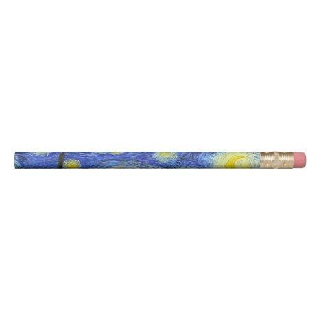 VAN GOGH Starry Night Pencil