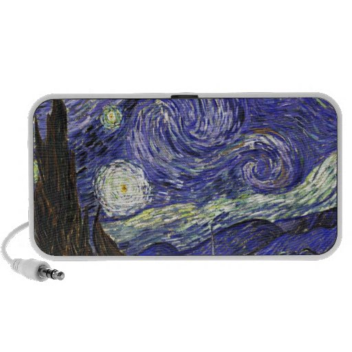 Van Gogh Starry Night Portable Speaker