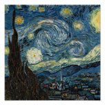 Van Gogh Starry Night Print