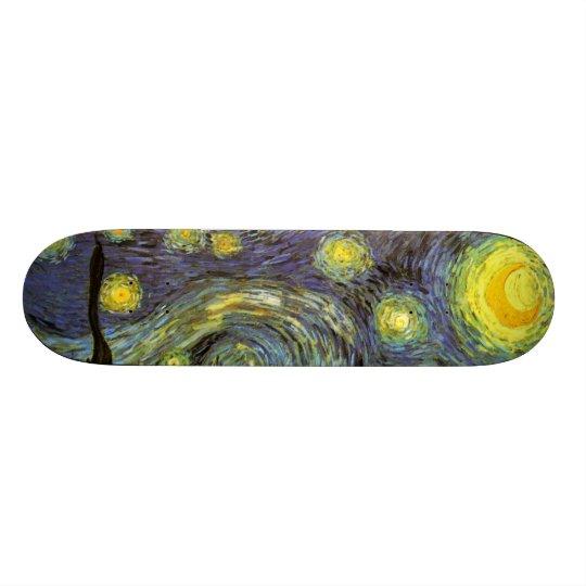 Van Gogh: Starry Night Skateboard