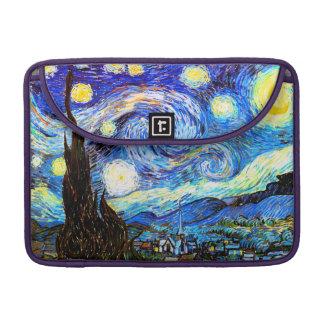 Van Gogh Starry Night Sleeves For MacBooks