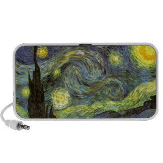 Van Gogh: Starry Night iPod Speakers
