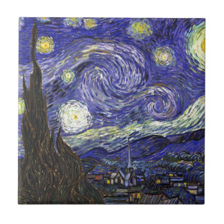 Van Gogh Starry Night Tile