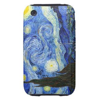 Van Gogh Starry Night Tough iPhone 3 Case