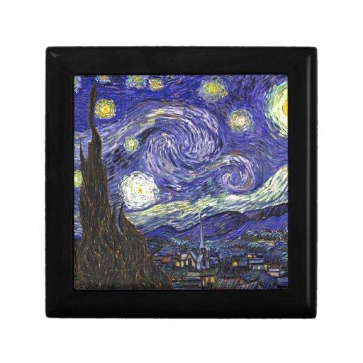 Van Gogh Starry Night Trinket Boxes