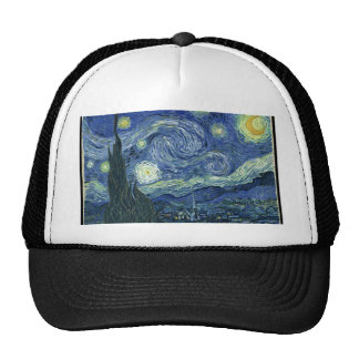 Van  Gogh Starry Night Trucker Hat