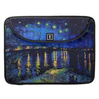 Van Gogh Starry Night Vintage Fine Art Sleeve For MacBook Pro