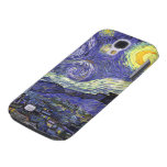 Van Gogh Starry Night, Vintage Landscape Art Samsung Galaxy S4 Cover
