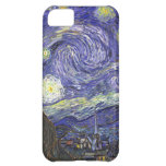 Van Gogh Starry Night, Vintage Landscape Art iPhone 5C Covers