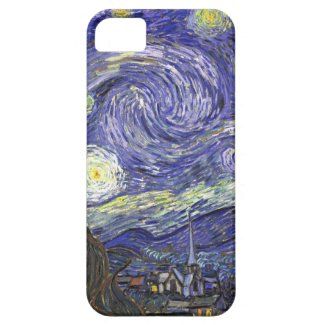 Van Gogh Starry Night, Vintage Post Impressionism Iphone 5 Covers