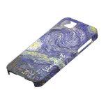 Van Gogh Starry Night, Vintage Post Impressionism iPhone 5 Cases