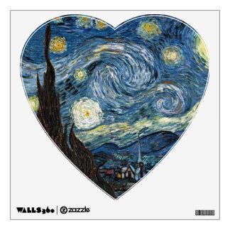 Van Gogh Starry Night Wall Sticker