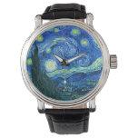 Van Gogh starry night Watches