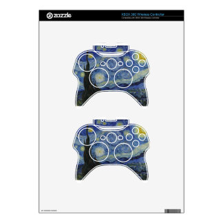 Van Gogh - Starry Night Xbox 360 Controller Decal
