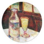 Van Gogh Still Life Absinthe  (F339) Party Plate