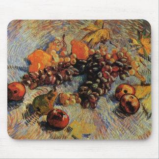Van Gogh; Still Life Apples, Pears, Lemons, Grapes Mouse Pad