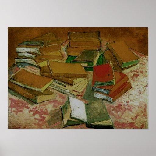 Van GoghStill Life: French Novels (F358) Poster