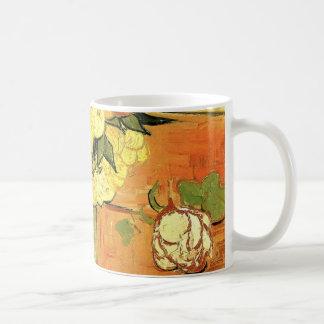 Van Gogh; Still Life Japanese Vase Roses Anemones Coffee Mug