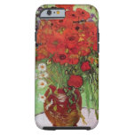 Van Gogh; Still Life: Red Poppies and Daisies Tough iPhone 6 Case