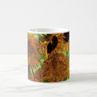 Van Gogh; Still Life: Vase with 12 Sunflowers Coffee Mug