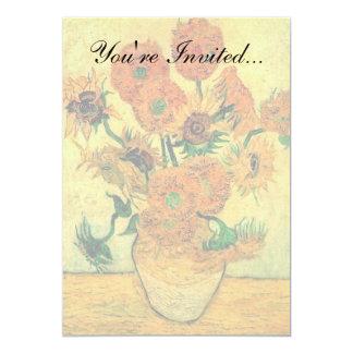 Van Gogh - Still Life Vase With Fifteen Sunflowers Card