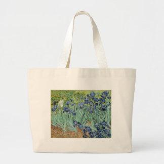 Van Gogh Still Life: Vase with Irises Canvas Bag