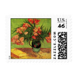 Van Gogh; Still Life Vase with Oleanders and Books Postage