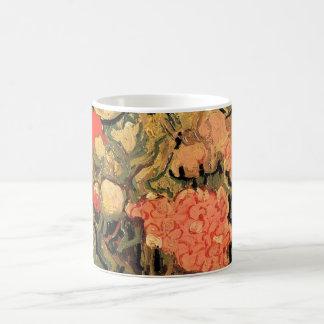 Van Gogh Still Life Vase with Rose Mallow Flowers Mug