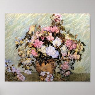 Van Gogh - Still Life Vase with Roses Poster
