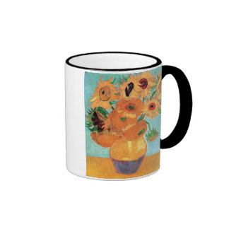 Van Gogh - Still Life Vase With Twelve Sunflowers Coffee Mugs